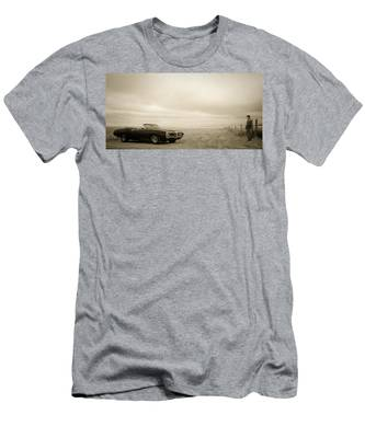 Men's T-Shirt (Athletic Fit) featuring the photograph High Plains Drifter by Carl Young