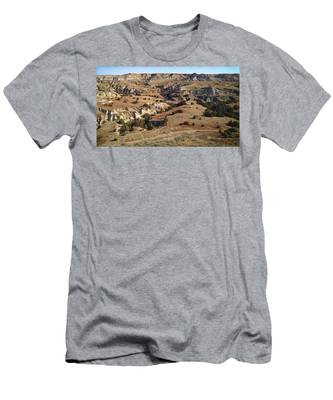 Men's T-Shirt (Athletic Fit) featuring the photograph Hiker's Paradise by Carl Young