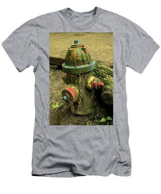 Hydrant Men's T-Shirt (Athletic Fit)
