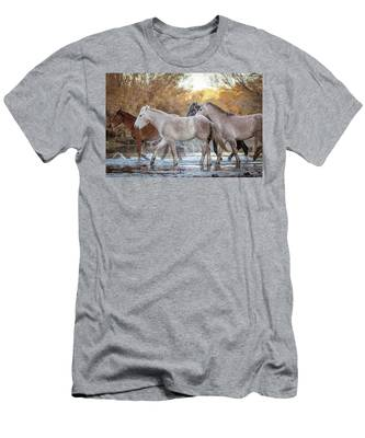In The River Men's T-Shirt (Athletic Fit)