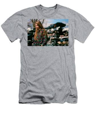 Men's T-Shirt (Athletic Fit) featuring the photograph Junk by Carl Young