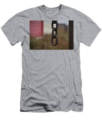 Men's T-Shirt (Athletic Fit) featuring the photograph Loose End by Carl Young