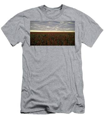 Men's T-Shirt (Athletic Fit) featuring the photograph Miles Of Milo by Carl Young