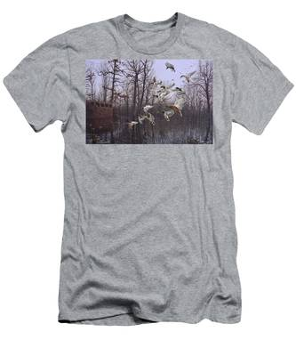 Monday Morning Mallards Men's T-Shirt (Athletic Fit)