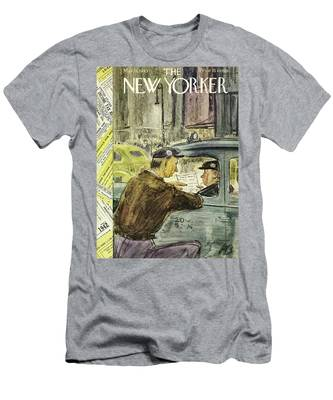 New Yorker March 13th 1943 Men's T-Shirt (Athletic Fit)