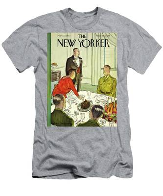 New Yorker November 27th 1943 Men's T-Shirt (Athletic Fit)