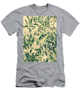 Men's T-Shirt (Athletic Fit) featuring the photograph Olive Garden II by Anne Leven