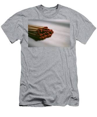 Men's T-Shirt (Athletic Fit) featuring the photograph Playing With Fire by Carl Young
