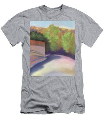 Port Costa Street In Bay Area Men's T-Shirt (Athletic Fit)