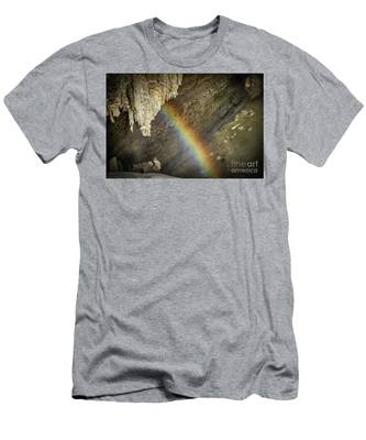 Rainbow At Letchworth Men's T-Shirt (Athletic Fit)