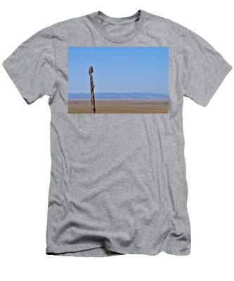 Men's T-Shirt (Athletic Fit) featuring the photograph Sentinel by Carl Young