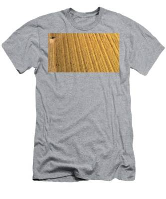 Men's T-Shirt (Athletic Fit) featuring the photograph Sixty Million Kernels by Carl Young