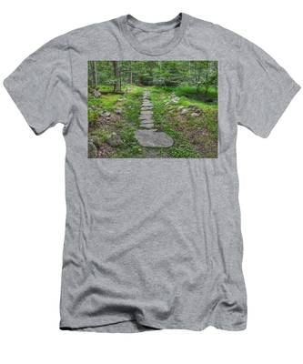 Stepping Stone Path - Kinnelon Men's T-Shirt (Athletic Fit)