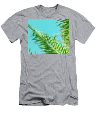 Men's T-Shirt (Athletic Fit) featuring the photograph Sunny Paradise II by Anne Leven