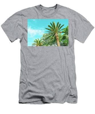 Sunny Paradise Iv Men's T-Shirt (Athletic Fit) by Anne Leven