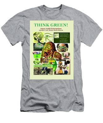 Think Green Men's T-Shirt (Athletic Fit)
