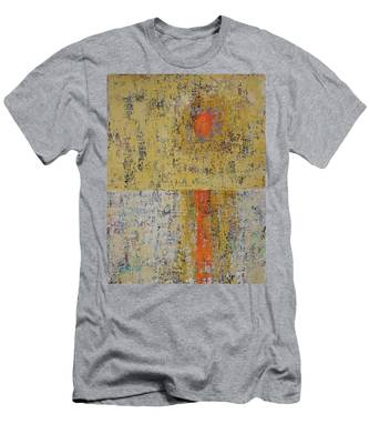 Tidepool Reflection Original Painting Sold Men's T-Shirt (Athletic Fit)