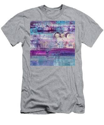 Winter Blues 2 Men's T-Shirt (Athletic Fit)