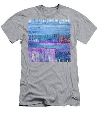 Winter Blues 3 Men's T-Shirt (Athletic Fit)