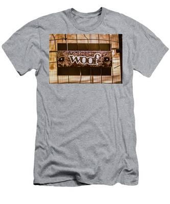 Woof Men's T-Shirt (Athletic Fit)