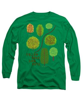 Path Long Sleeve T-Shirts