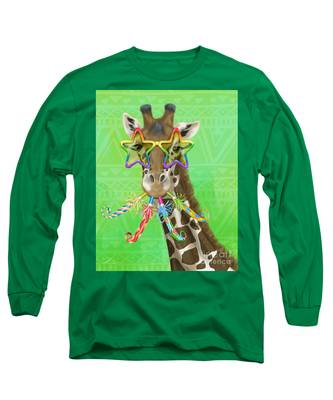 Party Safari Giraffe Long Sleeve T-Shirt