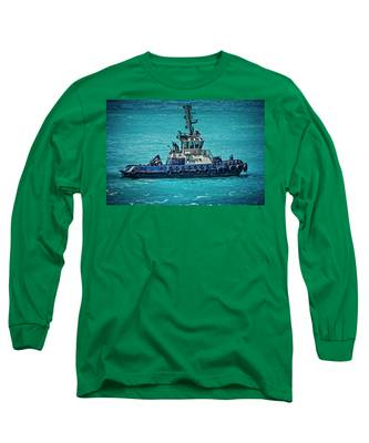 Salvage Tug Boat Long Sleeve T-Shirt