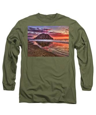 Crimson Sunset Long Sleeve T-Shirt