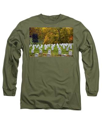 An Autumn Day In Arlington Long Sleeve T-Shirt