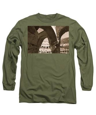 Arches In The Colosseum Long Sleeve T-Shirt