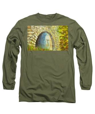 Blue Ridge Tunnel Long Sleeve T-Shirt