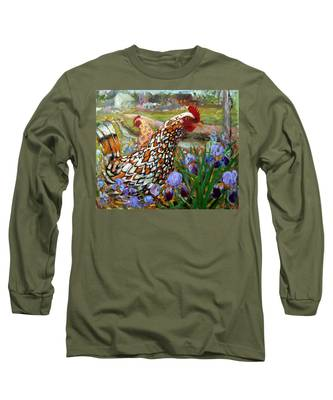 Chick And Iris Long Sleeve T-Shirt