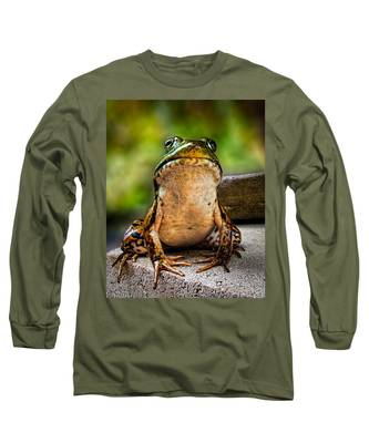 Frog Prince Or So He Thinks Long Sleeve T-Shirt