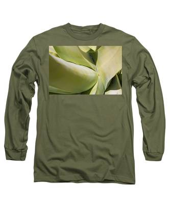 Giant Agave Abstract 9 Long Sleeve T-Shirt