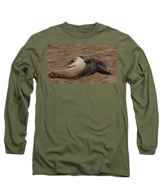 Seal And Pups Long Sleeve T-Shirt