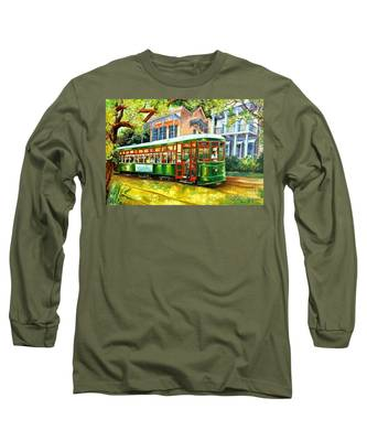 New Orleans Streetcar Long Sleeve T-Shirts