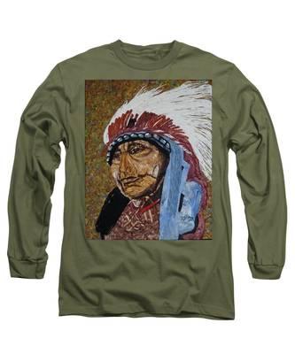 Warrior Chief Long Sleeve T-Shirt