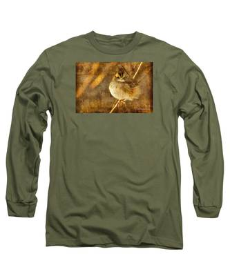 White Throated Sparrow Long Sleeve T-Shirt