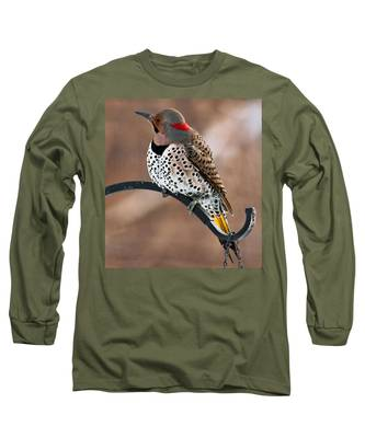 Yellow-shafted Northern Flicker Long Sleeve T-Shirt