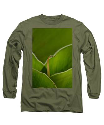 Curled Long Sleeve T-Shirt