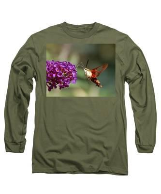 Hummingbird Moth Long Sleeve T-Shirt