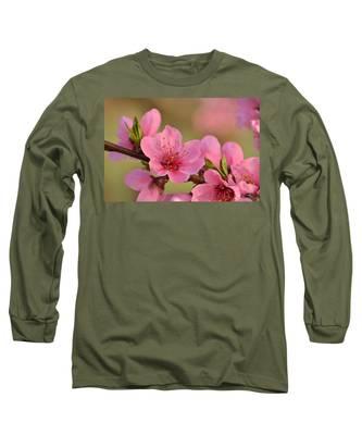 Peach Beautiful Long Sleeve T-Shirt