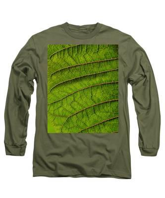 Poinsettia Leaf II Long Sleeve T-Shirt