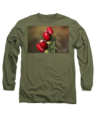 Prickley Pear Fruit Long Sleeve T-Shirt