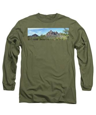 Ragged Top Mountain Panorama Long Sleeve T-Shirt
