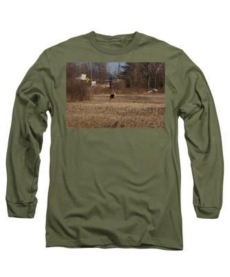Whitetail Deer Long Sleeve T-Shirt