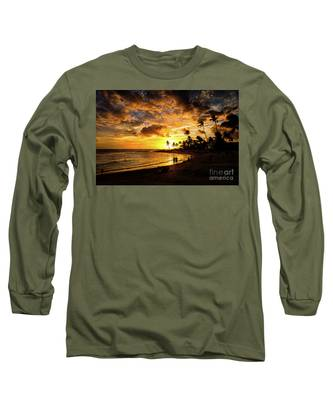 A Walk On The Beach Long Sleeve T-Shirt