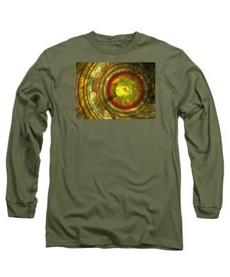 Apollo - Abstract Art Long Sleeve T-Shirt