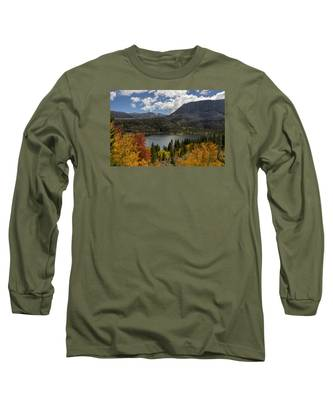 Autumn At Rock Creek Lake Long Sleeve T-Shirt