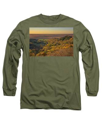 Autumn View At Waubonsie State Park Long Sleeve T-Shirt